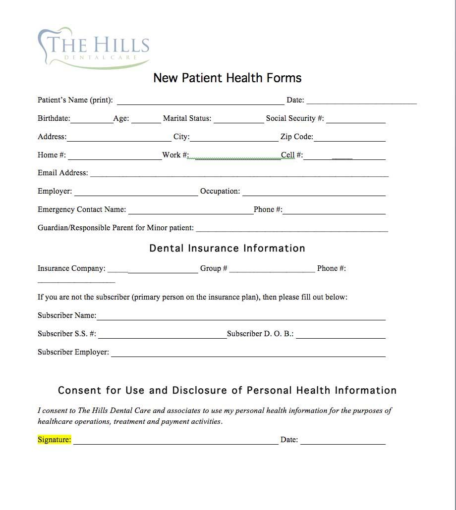 new-patient the hills dental care st louis hills dentist