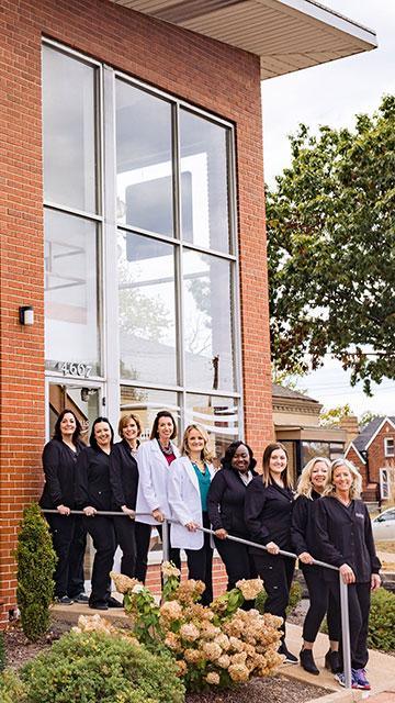Hills-Dental-team the hills dental care st louis hills dentist